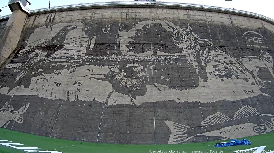 Solina - mural